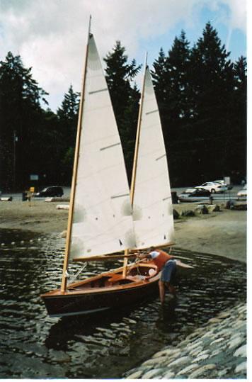 Sharpie Schooner Ladyben Classic Wooden Boats For Sale