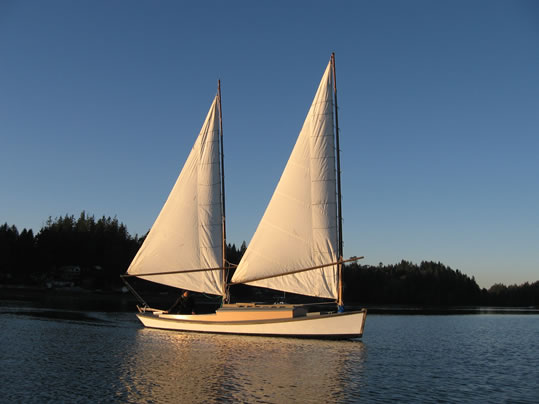 24 Catketch Sharpie Ladyben Classic Wooden Boats For Sale