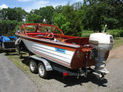 Thompson Ladyben Classic Wooden Boats For Sale