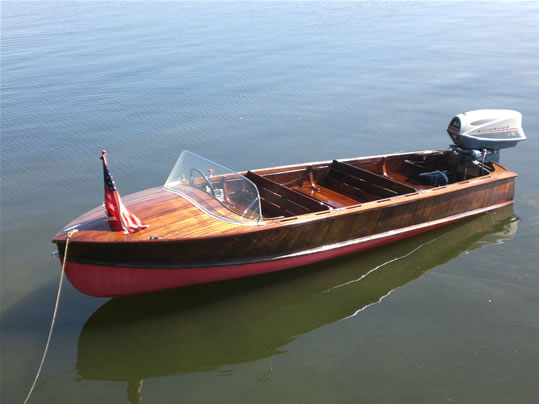 Wagemaker Ladyben Classic Wooden Boats For Sale