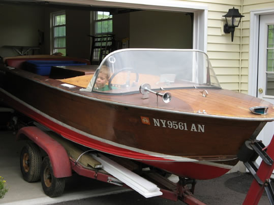 Correct Craft Ladyben Classic Wooden Boats For Sale