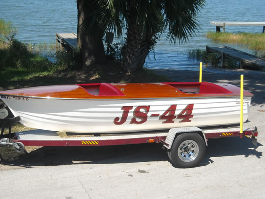 Jersey speed skiff ladyben classic wooden boats for sale for Used outboard motors nj