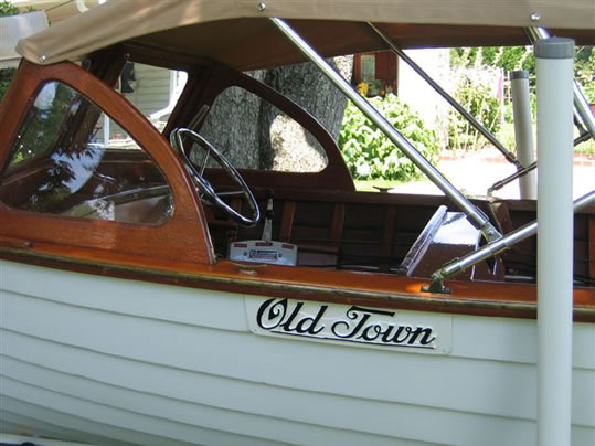 Old Town Ladyben Classic Wooden Boats For Sale