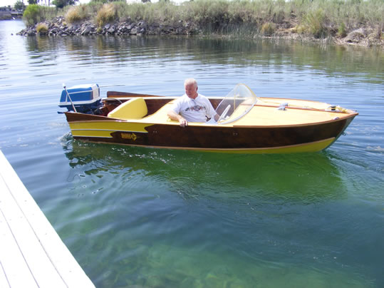 YELLOW JACKET - LadyBen Classic Wooden Boats for Sale