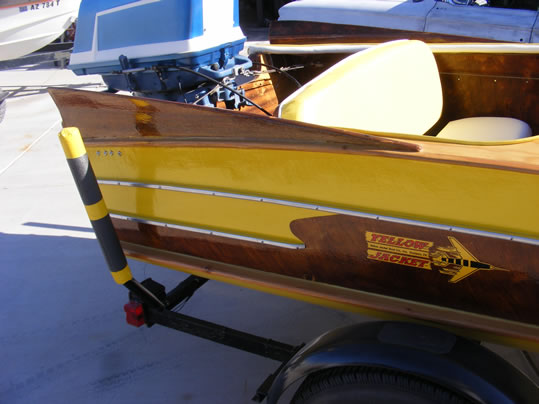 Used Water Tanks For Sale >> YELLOW JACKET - LadyBen Classic Wooden Boats for Sale