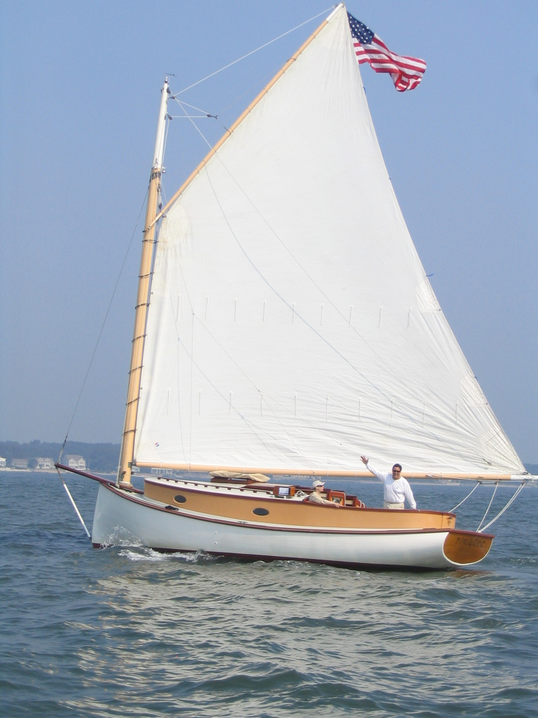 30Ft Charles Anderson Catboat 'TIGRESS' $99,000 - LadyBen ...