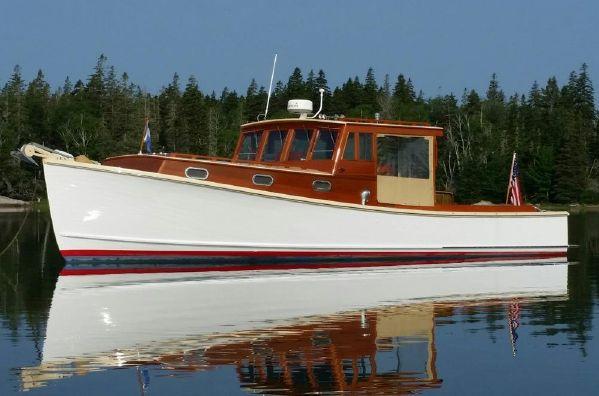 36Ft BUNKER & ELLIS DOWNEAST LOBSTER YACHT 'VERA LEE' $340,000 - LadyBen Classic Wooden Boats ...