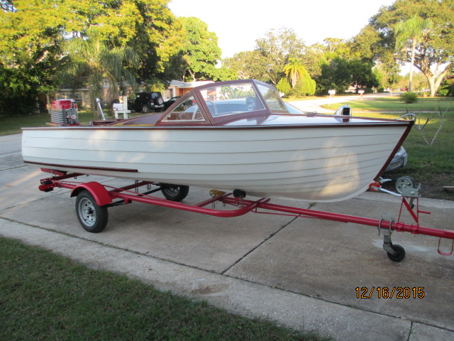 Thompson Sold Ladyben Classic Wooden Boats For Sale