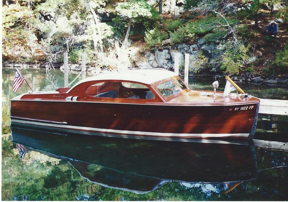 1953 Chris Craft Custom Sedan Boat For Sale