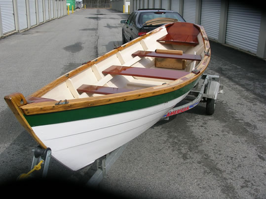 Lowell Dory - LadyBen Classic Wooden Boats for Sale