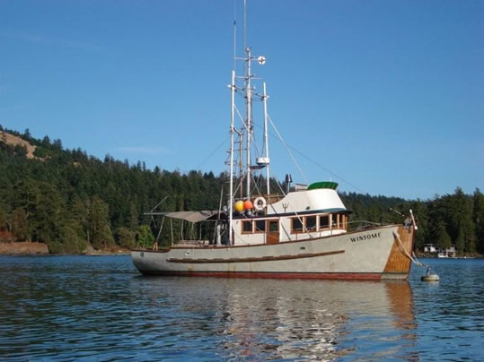 Troller Ladyben Classic Wooden Boats For Sale