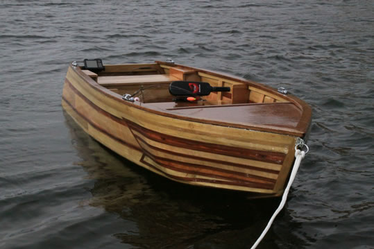 Used Deck Boats For Sale >> Handmade Strip Plank - LadyBen Classic Wooden Boats for Sale
