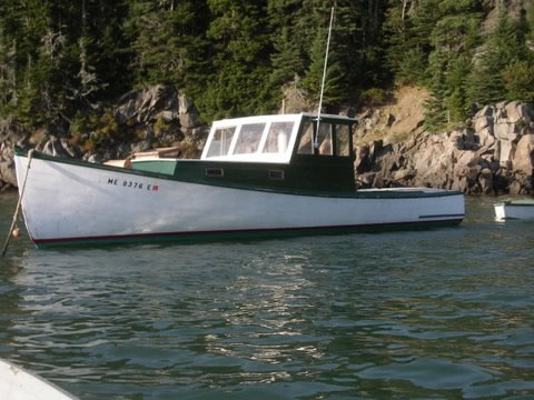 lobster boatpleasure ladyben classic wooden boats for sale