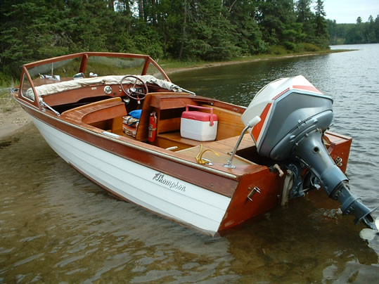 Thompson - LadyBen Classic Wooden Boats for Sale
