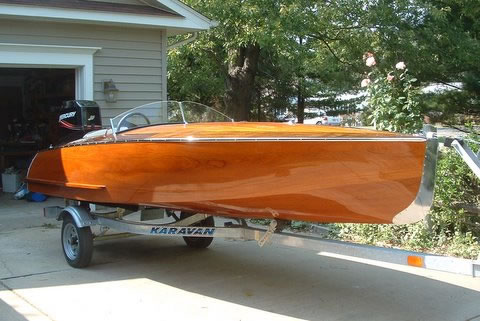 Runabout Ladyben Classic Wooden Boats For Sale