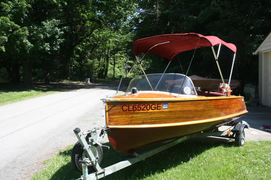 Penn Yan Ladyben Classic Wooden Boats For Sale