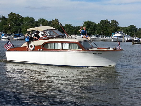 Chris Craft Sedan Cruiser