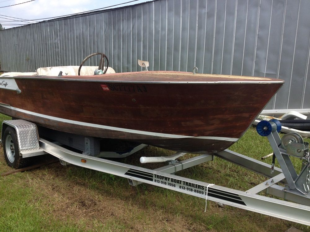 Chris craft sold ladyben classic wooden boats for sale for Classic chris craft wooden boats