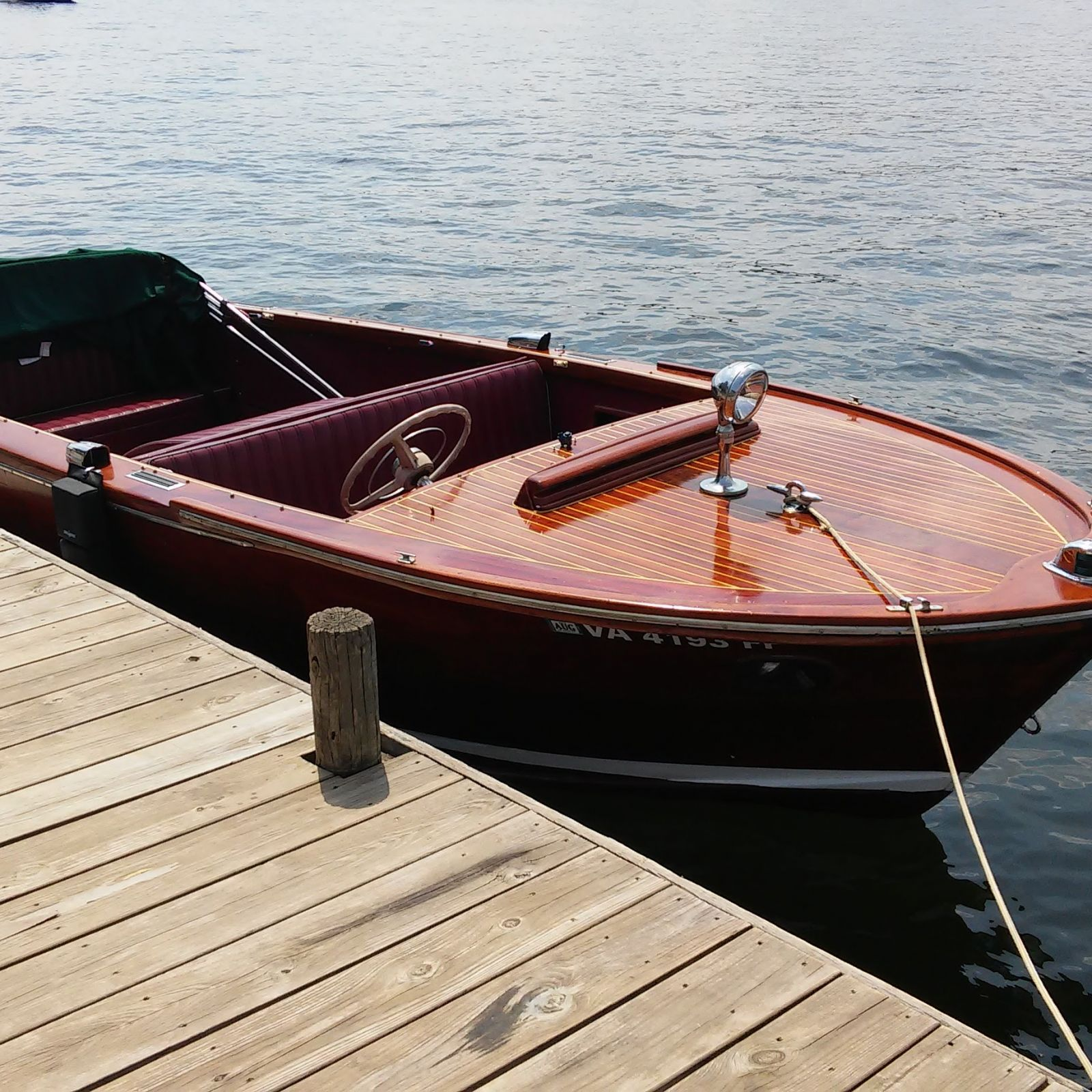 Trojan Ladyben Classic Wooden Boats For Sale