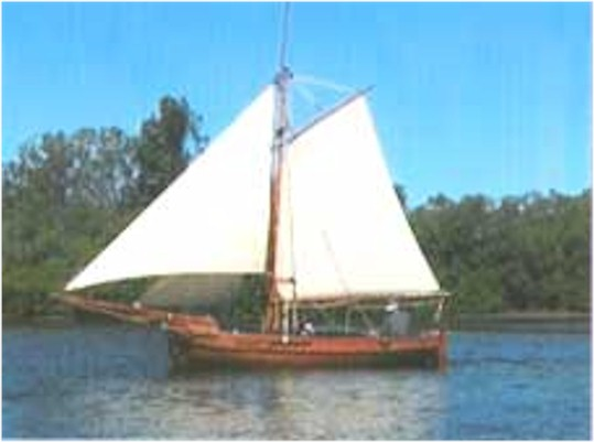 Gaff Cutter Ladyben Classic Wooden Boats For Sale