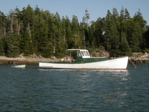 lobster boat/pleasure - LadyBen Classic Wooden Boats for Sale