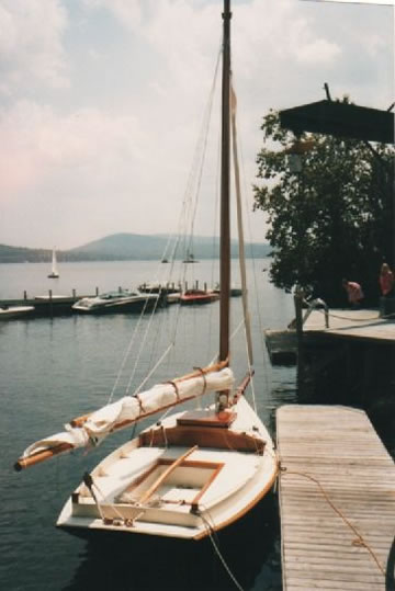 Friendship Sloop - LadyBen Classic Wooden Boats for Sale